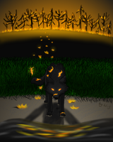 Out of the Flames by Wolf-Shadowrunner