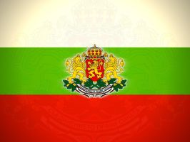 Bulgarian National Banner by aquadark