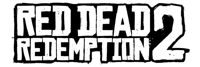 Red Dead Redemption 2 - Cleaned Transparent Logo 2 by MuuseDesign