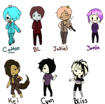 OC CHIBIS! by Ask-OcsHaven