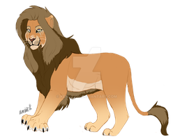 Lion Adopt CLOSED 50 points by KenliLion