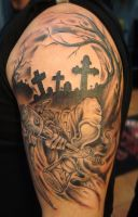 Grimreaper Tattoo by Vinoshitto