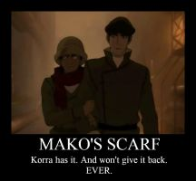 Mako Scarf Demtivational by PeachedPocky