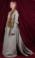 Italian Renaissance Gown:Front by Verdaera
