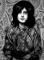 Jimmy Page by DrinkTillYouDrop