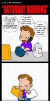 J to J: Saturday Morning by KamiDiox