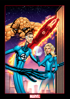 Fantastic Four colors by JoelPoischen