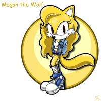 .:REQUEST:. Megan the Wolf by SonicFF
