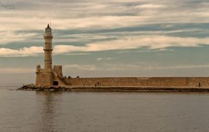 Autumn in the old Venetian port of Chania III by BillyNikoll