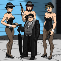 Penguin AKA Oswald Chesterfield Cobblepot by RedSpider2008