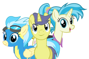 Comet Tail and his Sisters by 3D4D