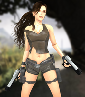 Lara hot adventures by ZayrCroft