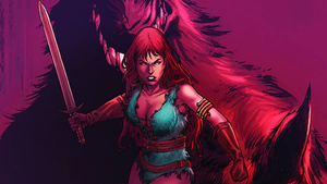 Red Sonja Unchained Wallpaper by Gilgamesh-Scorpion