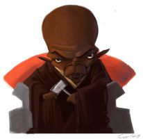 Mace Windu by bangalore-monkey