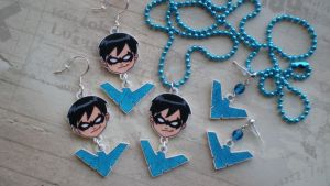 Nightwing Set by SugarTrip