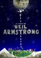 Neil Armstrong by kingmancheng