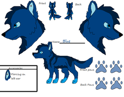 Blue reference sheet :3 by Hyperactive-Blue