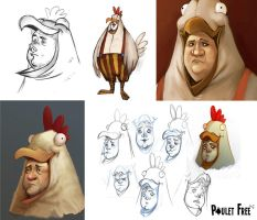 Poulet Free - Thierry by Grimhel