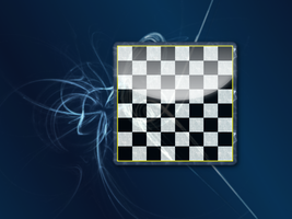 Glass and Onyx Chessboard by relativity17