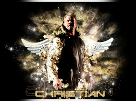 Christian wall by 95100wwe