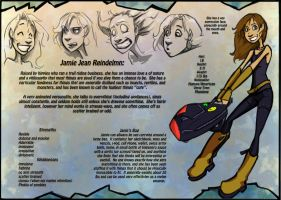 Jamie Jean Reindelmn by DoodlesandDaydreams
