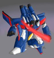 Armada Starscream - coloured by equanimity505