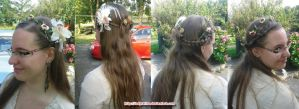 Castlefest 2014 hairstyle by LadyRafira