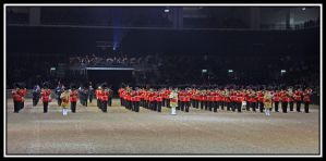 Massed Bands by lizzyr
