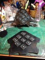 Kili bracers in progress by BeanFactory