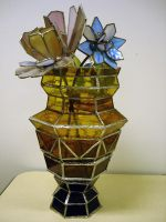 Vase with Flowers by kimby