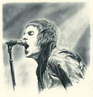Liam Gallagher by s-scattered