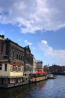 Canals of Amsterdam by cplcrud