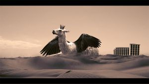 Llama Give You Wings by luccide