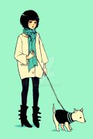 oh mon chien by To-fu