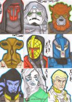 Star Wars Galaxy 4 batch 5 by NORVANDELL