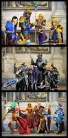 World of Warcraft Team by MiraiCosplay