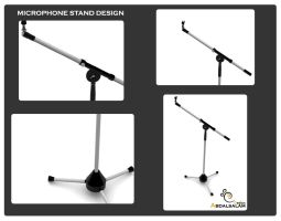 microphone_stand by AbdAlsalam