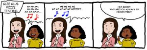 Glee - Egocentric by GleeonDoodles