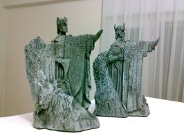 Argonath Bookends 1 by Minas-Tirith-Hakan