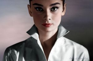 Audrey Hepburn by klimbims