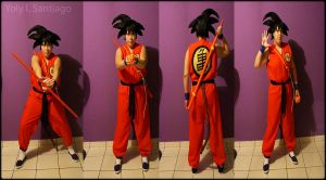 Dragon Ball_Young Goku_Cosplay Preview by Kixianth