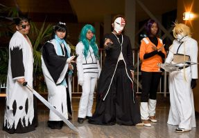 Bleach Group Cosplay Abu Dhabi Anime Club by Mahadesu