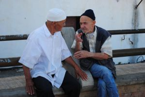 Old people from Morocco by phakeplastic