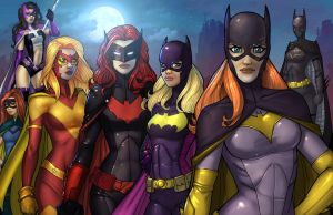 Batwomen COLOR by vest