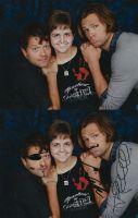 Misha And Jared Photo-Op by ChaseYoungIsMine
