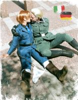 GermanyItaly cosplay by TechnoRanma