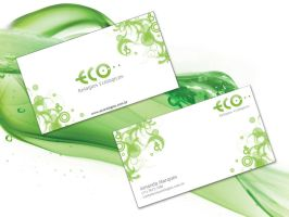 Eco Business Card by Rafaell18
