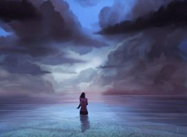 Speedpaint :: Sea of Glass by MissWiggle