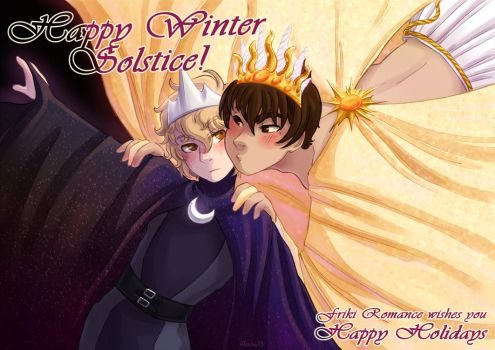Happy Winter Solstice by AT-Studio