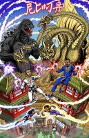 of Kaiju and Noodles by kaijuverse